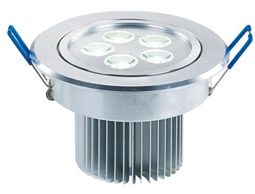 LED大功率天花灯 LM2820/5×1W